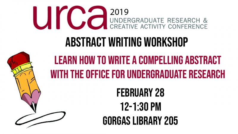 Abstract Writing Workshop Feb. 29th